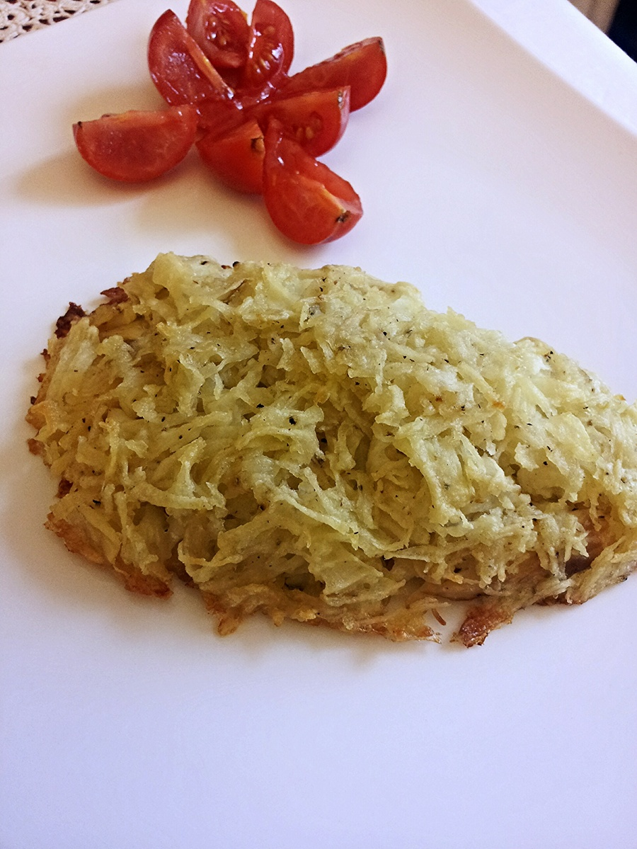 Filetto di Orata in crosta di patate
